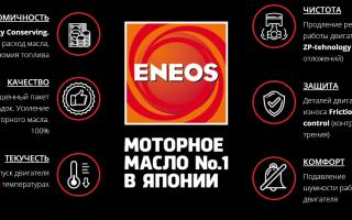 Масло ENEOS: Енеос подбор масла по марке автомобиля