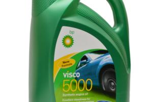 BP Visco 5000 5W-30: масло премиум-класса из Великобритании