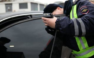 Тонировка: штраф за отсутствие – возможно ли?