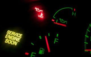 Пропало давление масла в двигателе (загорается лампочка давления масла при нагревание двигателя)