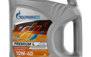 Масло Газпромнефть 10w40: полусинтетика технические характеристики