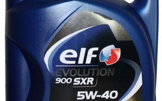 ELF Evolution 900 SXR (NF) 5W40: характеристики, масло Эльф SXR отличие от NF