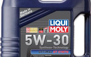 Ликви моли 5w30: преимущества Liqui Moly 5w30 перед конкурентами