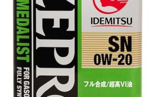 Идемитсу 0W20: масло Idemitsu 0w20