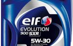 Elf Evolution 900 SXR 5W30: защита двигателя при любом стиле вождения