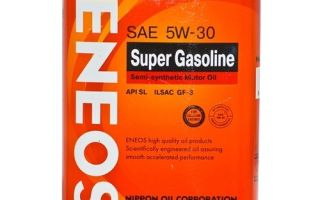 Eneos 5w30: Eneos Super Gasoline 5w30 SM и другие масла