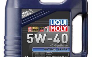 Liqui Moly Optimal Synth 5W-40: немецкое качество по доступной цене