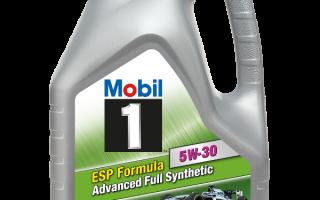 Mobil 1 ESP Formula 5W 30: характеристики