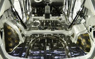 Шумоизоляция автомобилей Анти-Шум