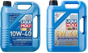 Чем отличается масло 5w40 от 10w40