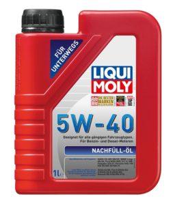 Liqui Moly 5w40 Nachfull Oil