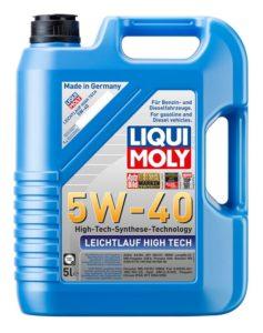 Liqui Moly 5w40 Leichtlauf High Tech