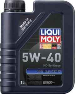 Liqui Moly 5w40 Optimal Synth