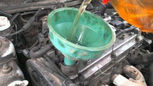 Промывка двигателя дизельным топливом