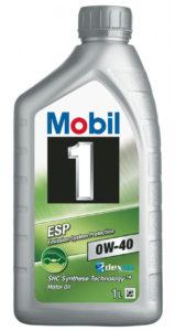 Mobil 1 0w-40 ESP
