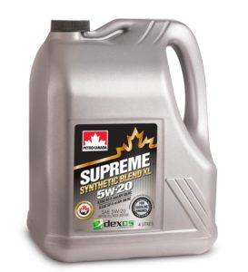 Petro Canada Supreme Synthetic Blend XL 5W-20