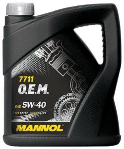 Mannol 7711 O.E.M. 5W-40