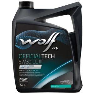 Wolf OFFICIALTECH 5W30 LL III