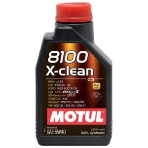 Motul 8100 X-clean 5W-40 1 л.