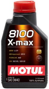 Motul 8100 X-max 0W-40 1 л.