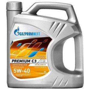 Gazpromneft Premium C3 5W-40
