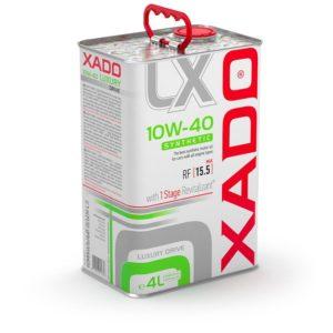 XADO 10W40 Luxury Drive SYNTHETIC
